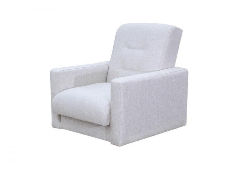 Кресло Craftmebel Лондон рогожка бежевая - фото 1
