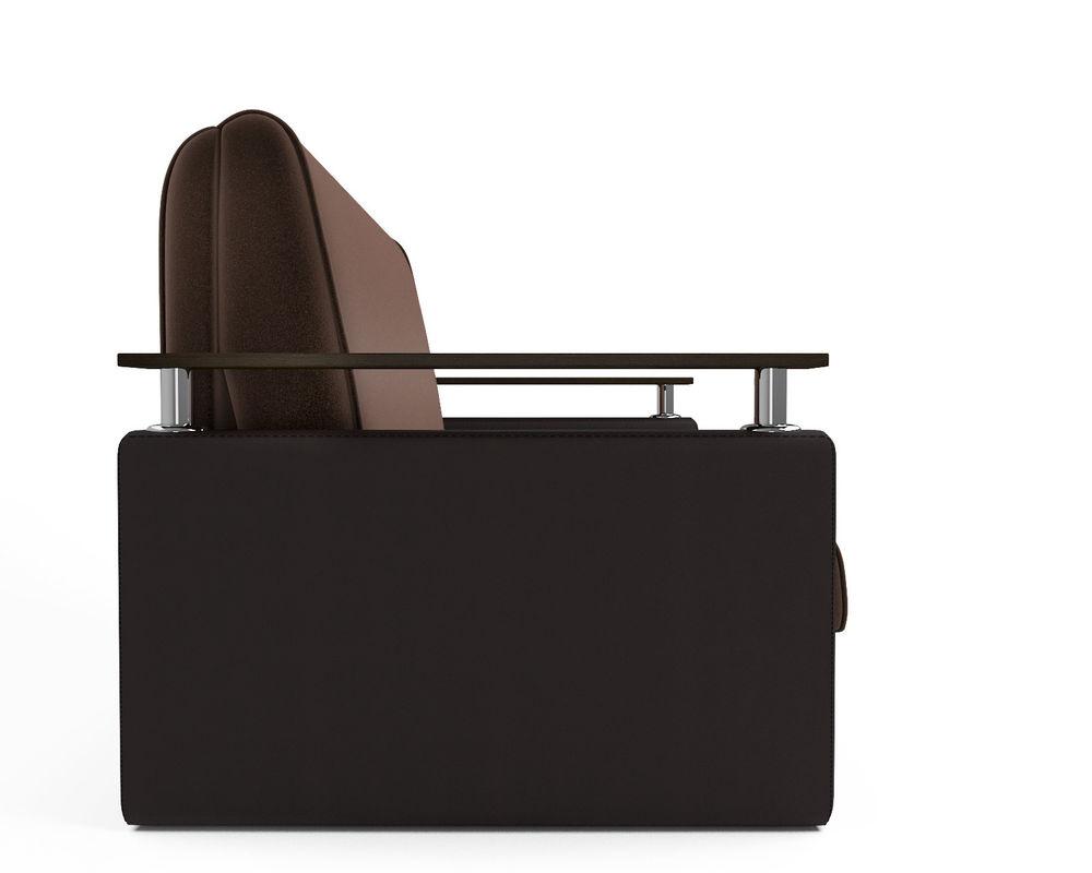 Диван Мебель-АРС Шарм — шоколад (140х195) - фото 3