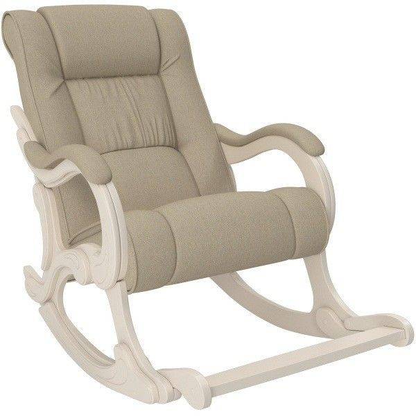 Кресло Impex Модель 77 Лидер Мальта 01 сливочный - фото 1