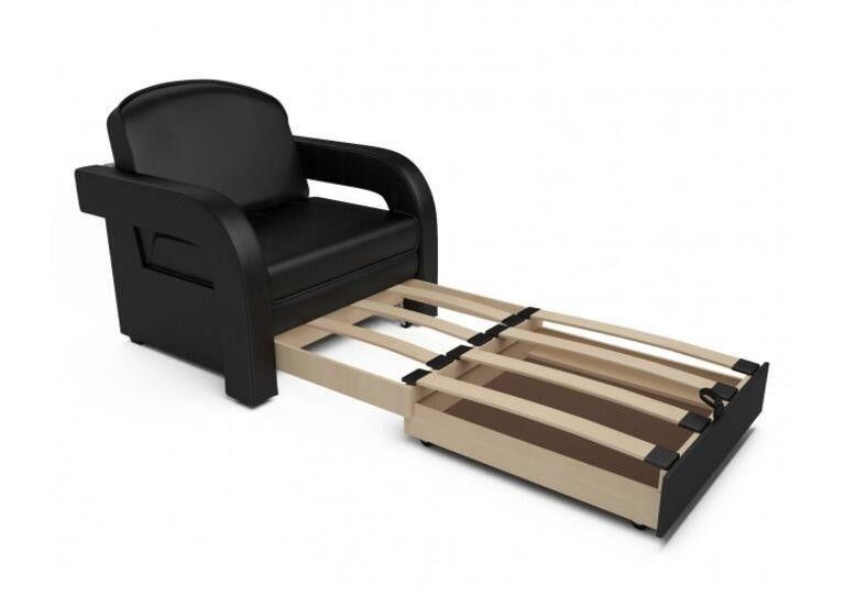 Кресло Craftmebel Кармен-2 (черный кожзам) - фото 3