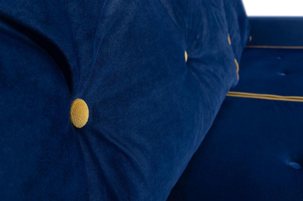 Диван Woodcraft Харлем Barhat Blue - фото 10