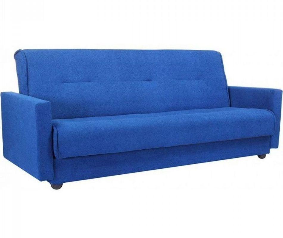 Диван Луховицкая мебельная фабрика Милан (Астра синий) 120x190 - фото 1