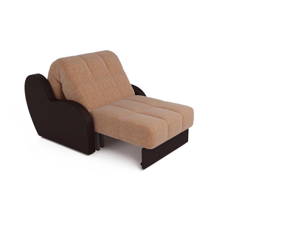 Кресло Мебель-АРС Аккордеон Барон кордрой (микровелюр + экокожа) - фото 5