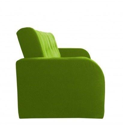 Диван Луховицкая мебельная фабрика Марсель (велюр зеленый) 140x190 - фото 4