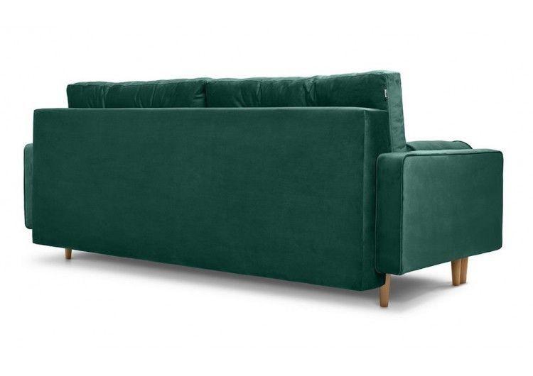 Диван Craftmebel Ситено (вельвет зеленый) - фото 4