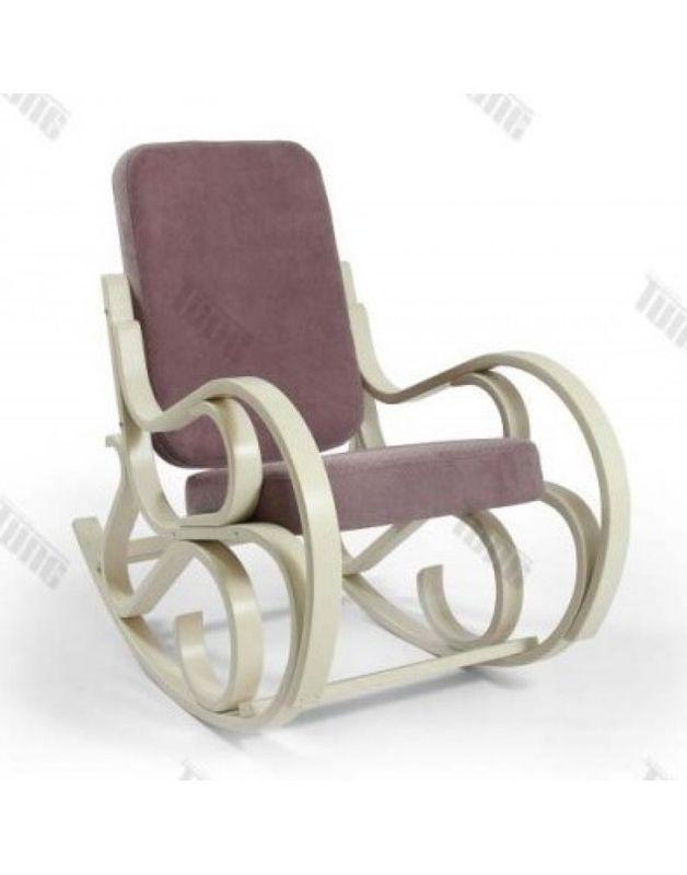 Кресло Impex Луиза Бежевый (Лиловый) - фото 1