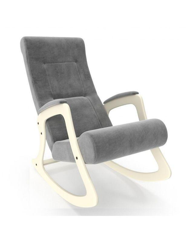 Кресло Impex Модель 2 Verona сливочный (Antrazite grey) - фото 1