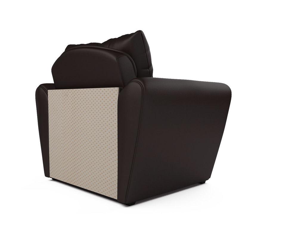 Кресло Мебель-АРС Квартет - экокожа шоколад - фото 4