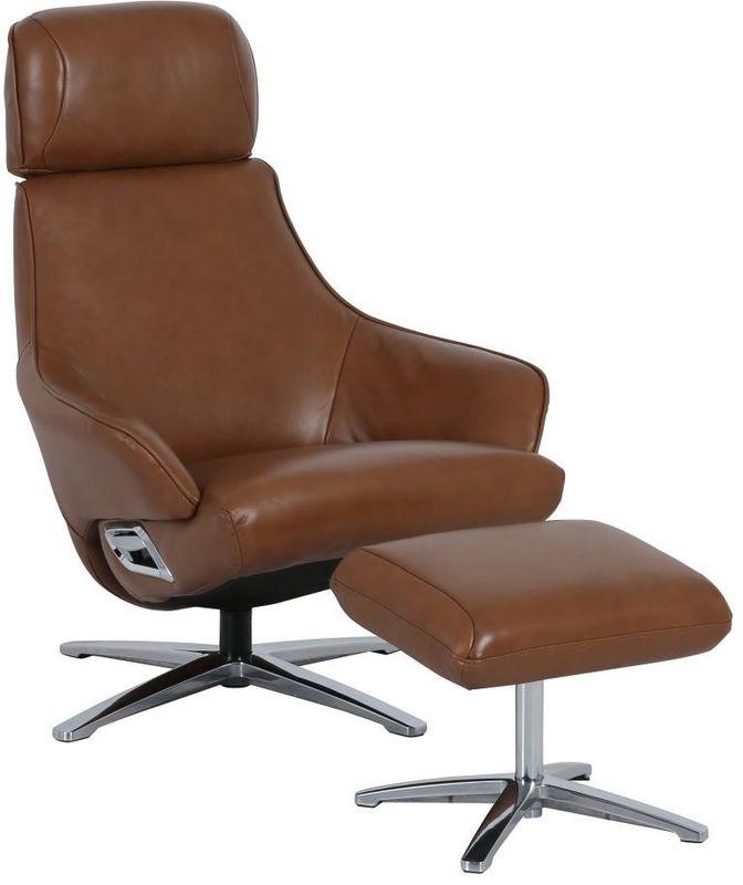 Кресло Arimax Dr Max DM02008 (Охра) с подставкой для ног - фото 1