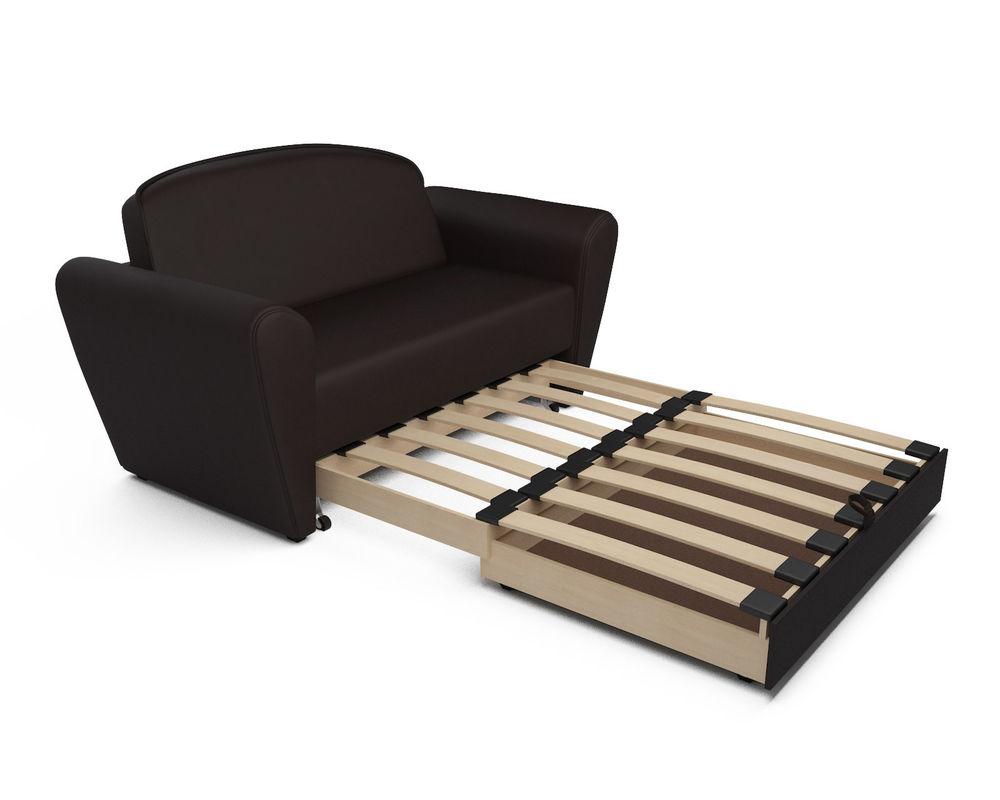 Диван Мебель-АРС Квартет шоколад экокожа - фото 6
