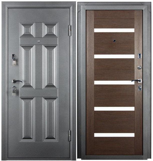 Входная дверь Промет Виктория (венге) - фото 1