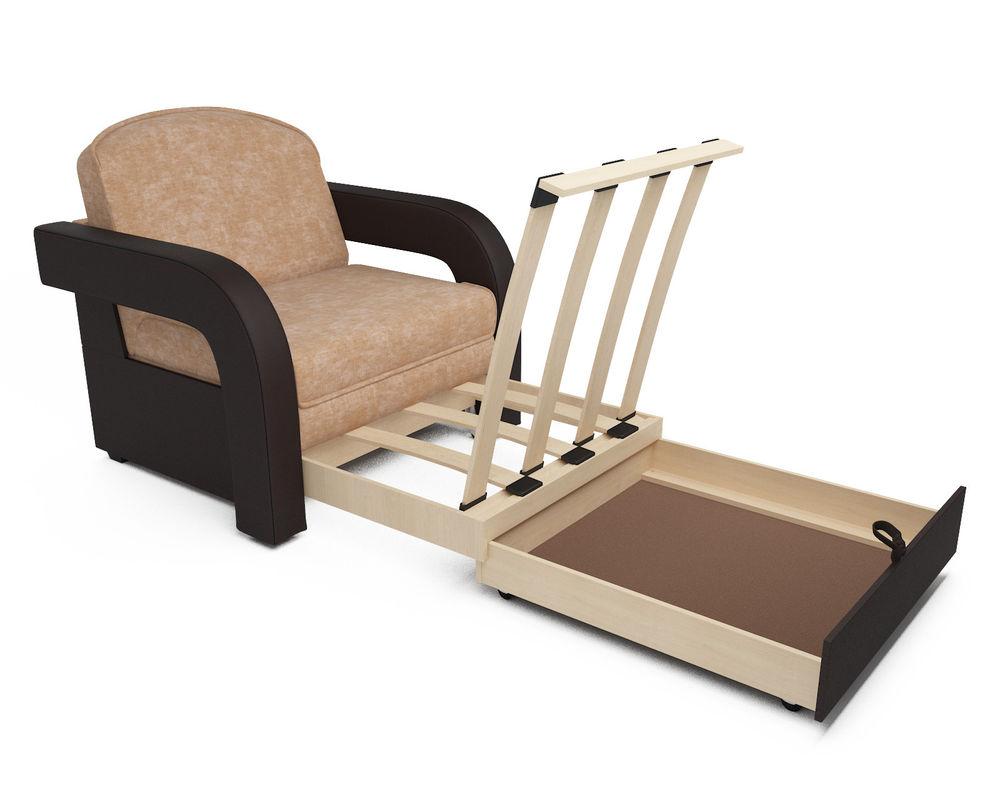 Кресло Мебель-АРС Кармен-2 Кордрой (микровелюр + экокожа) - фото 6