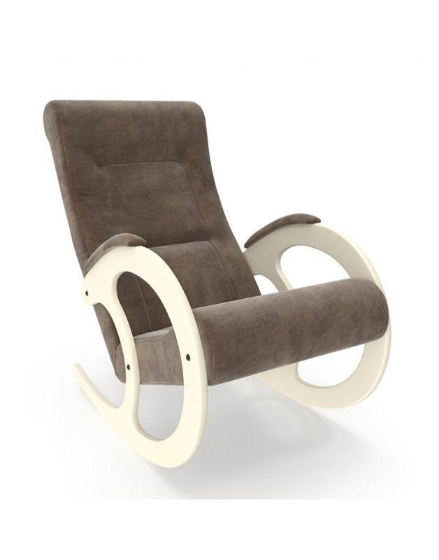 Кресло Impex Модель 3 Verona сливочный (Antrazite grey) - фото 4