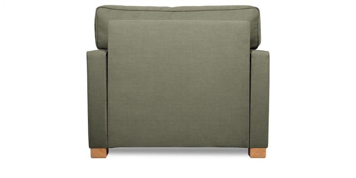 Кресло WOWIN Табу (Металлическо-серая рогожка) - фото 5