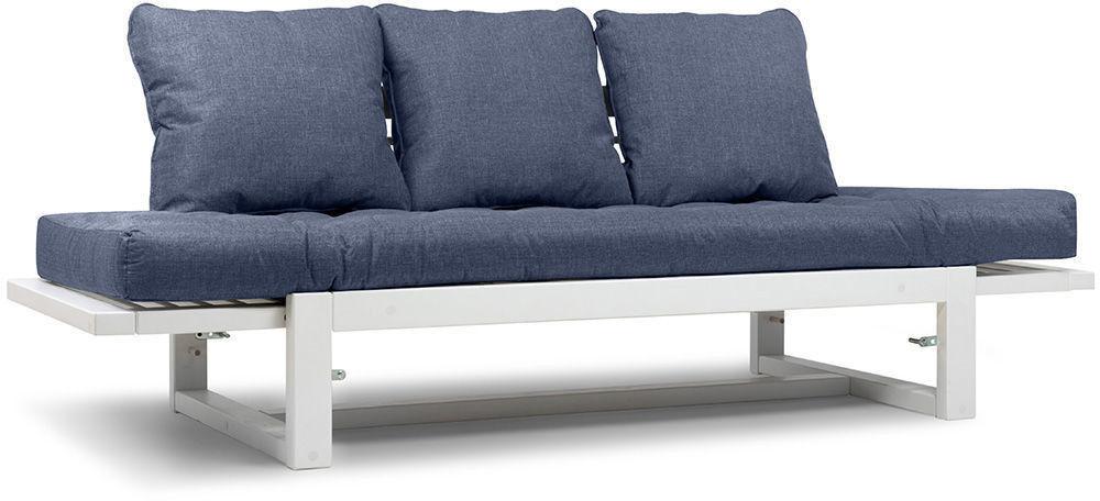 Диван Woodcraft Кушетка Балтик Textile Blue - фото 6