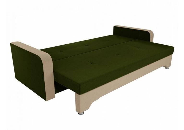 Диван Craftmebel Ник-3 зеленый вельвет - фото 2