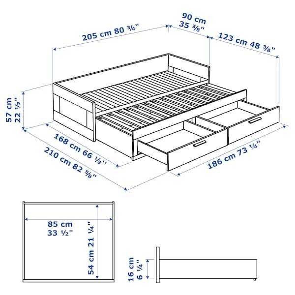Диван IKEA Бримнэс 603.691.32 - фото 6