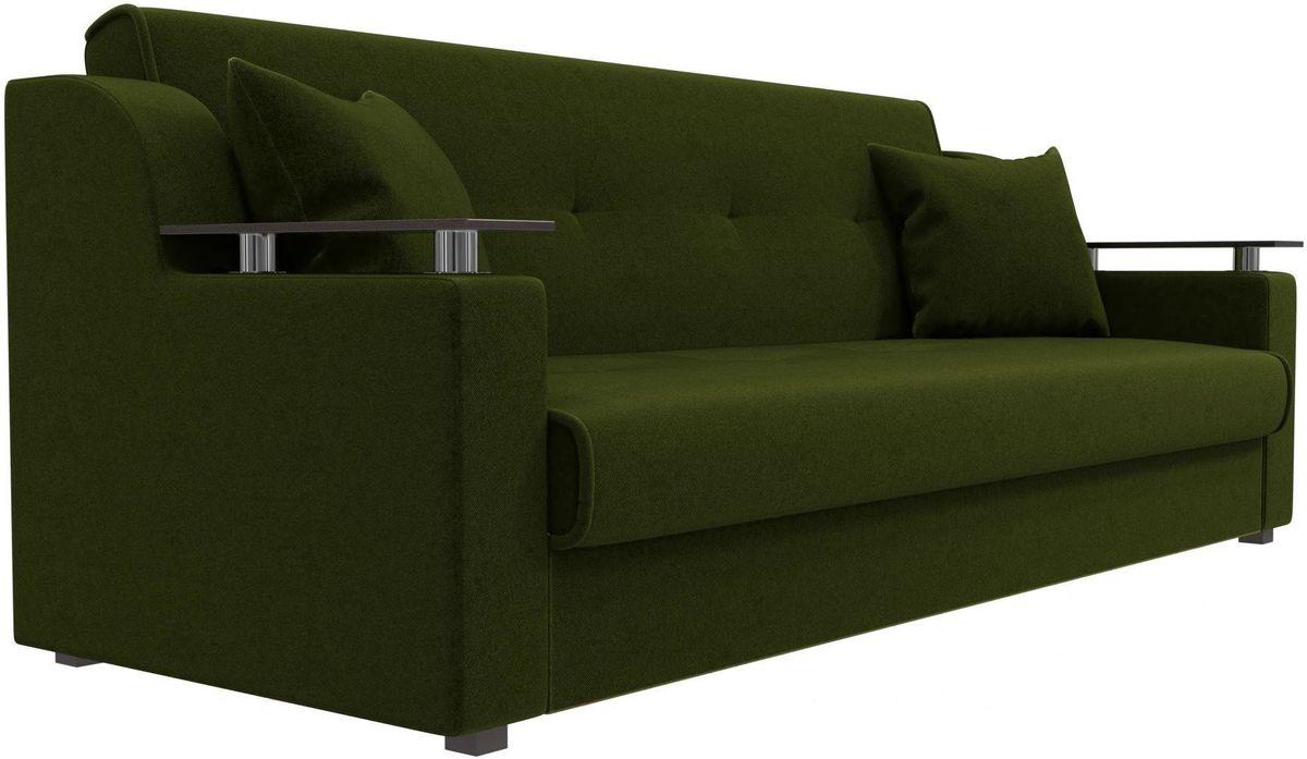 Диван Mebelico Сенатор 100615 микровельвет зеленый - фото 5