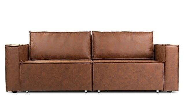 Диван Craftmebel Лофт (экокожа коричневая) - фото 2