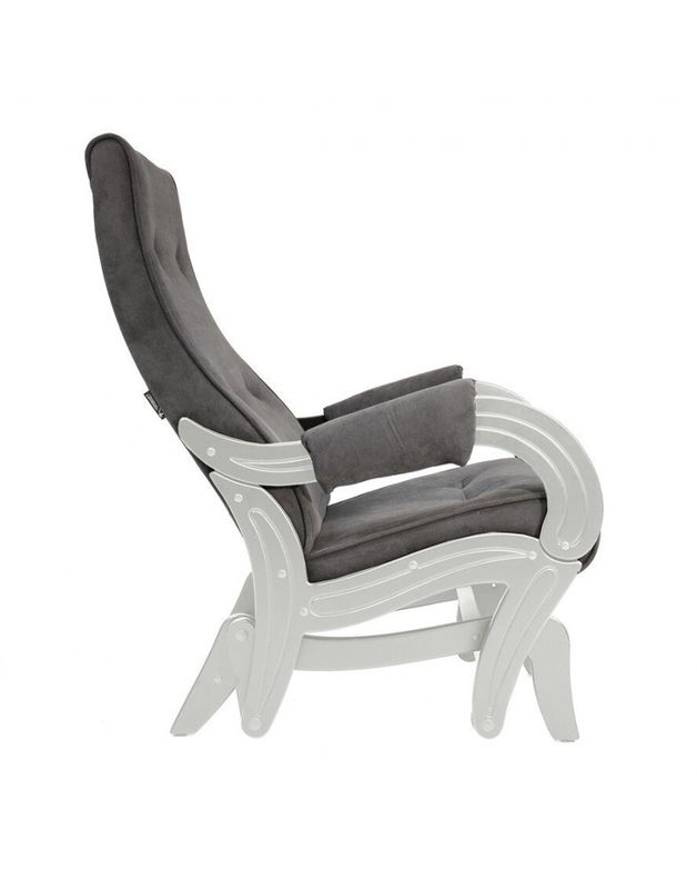 Кресло Impex Кресло-гляйдер Модель 708 Verona сливочный (brown) - фото 6