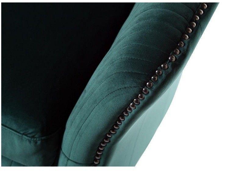 Кресло Garda Decor Кресло для гостиной Garda Dеcor PJS30801-PJ622 GRD_TT-00000528, зеленый - фото 3