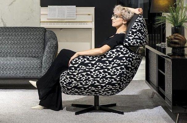 Кресло KLER CORNETTA W189 (чёрный) - фото 2