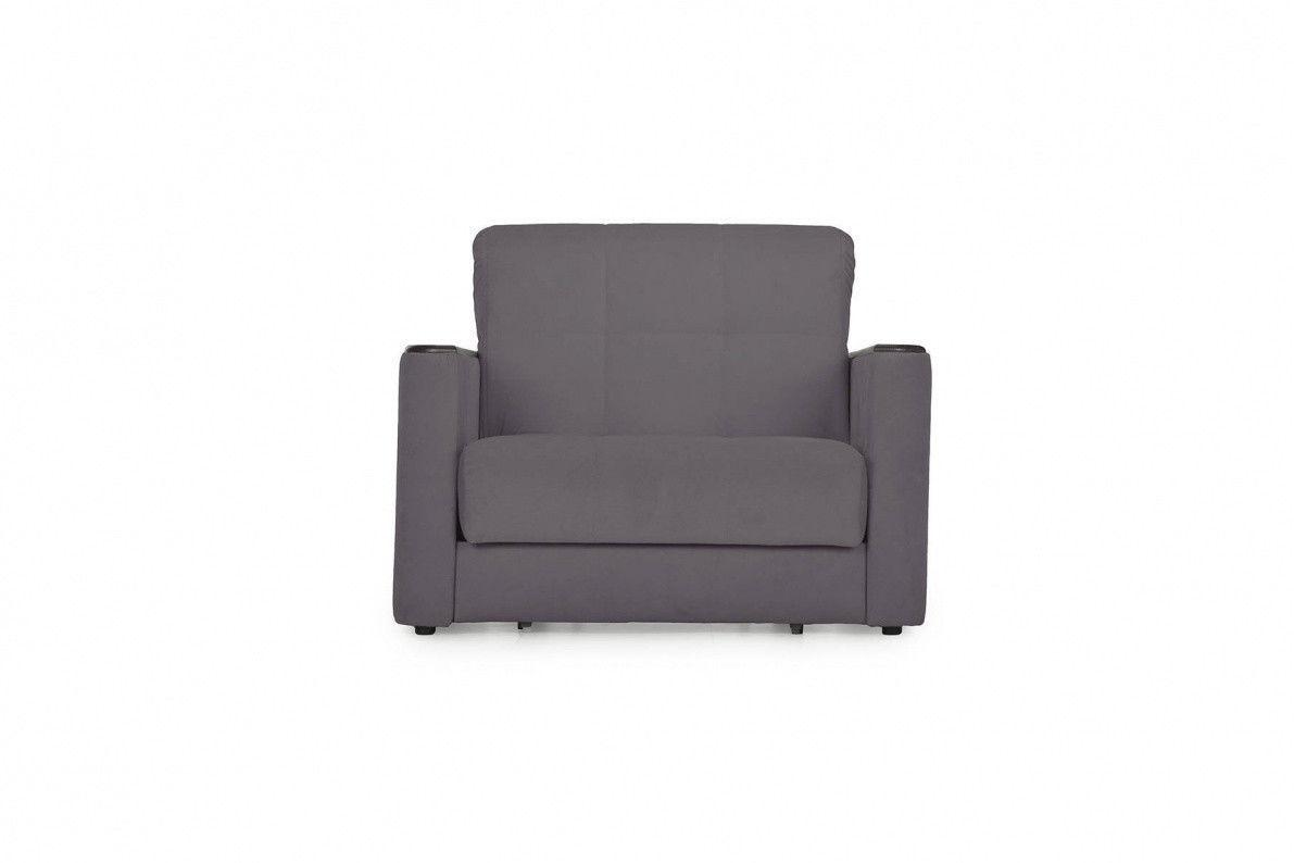 Кресло Stolline Мартин темно-серое - фото 3