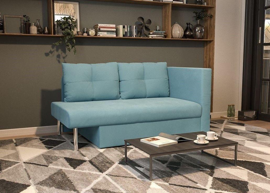 Диван Мебель-АРС Алиса Luna 089 голубой - фото 8