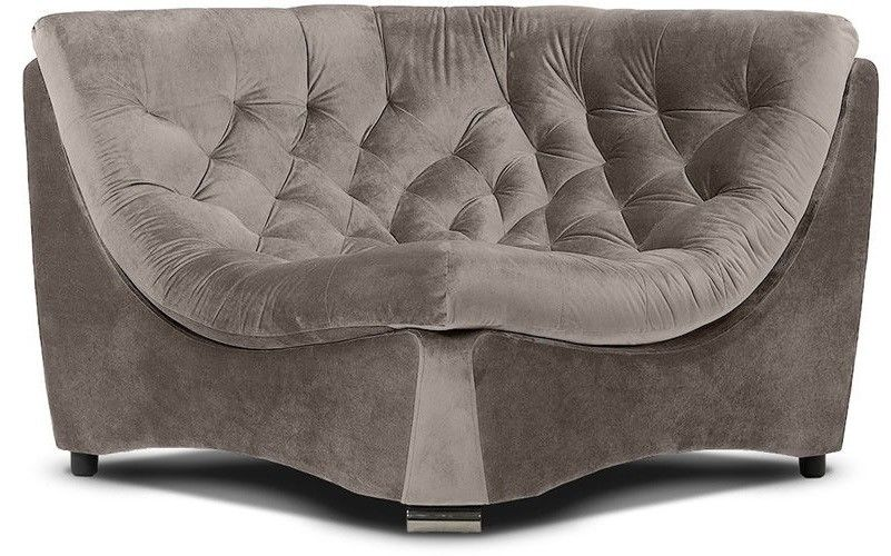 Диван Woodcraft Угловое кресло Монреаль Премиум Barhat Beige - фото 1