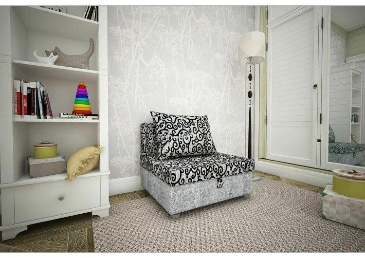Кресло Раевская мебельная фабрика вензеля+рогожка серая 00706 - фото 1