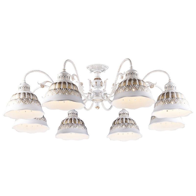 Светильник Arte Lamp Chiesa A2814PL-8WG - фото 1