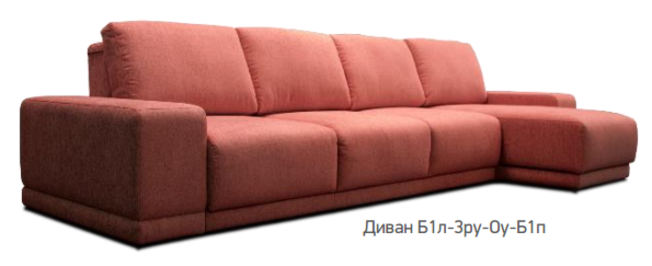 Элитная мягкая мебель Divanger Митчелл Plain - фото 2