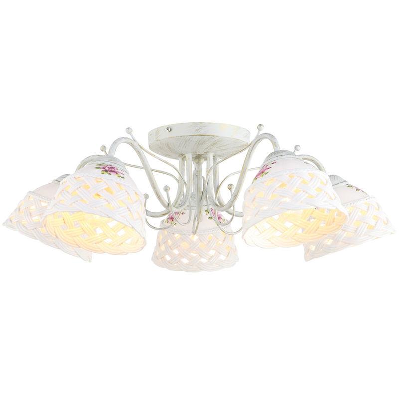 Светильник Arte Lamp Wicker A6616PL-5WG - фото 1
