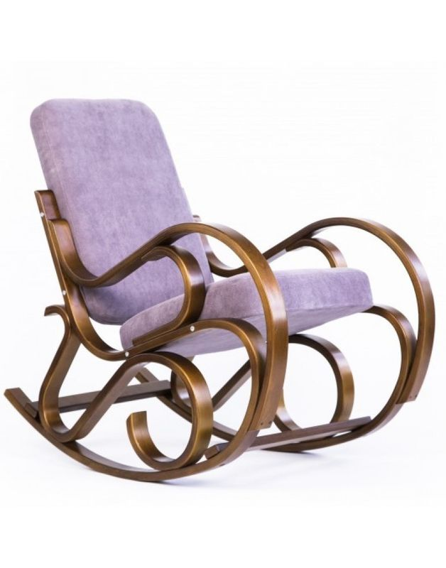 Кресло Impex Луиза вишня (Лиловый) - фото 4