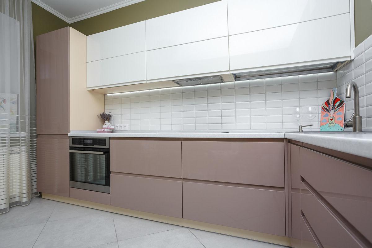Кухня AlvaLine Breeze (кофе с молоком) - фото 16