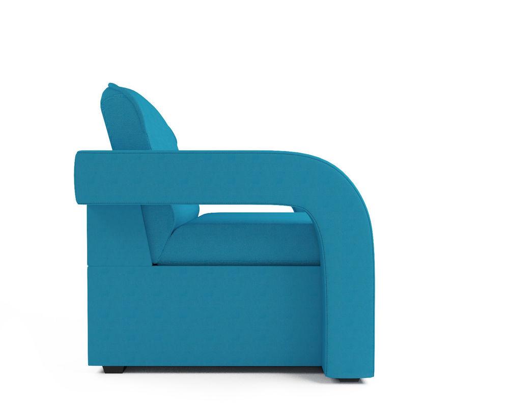 Кресло Мебель-АРС Кармен-2 синий (рогожка) - фото 3