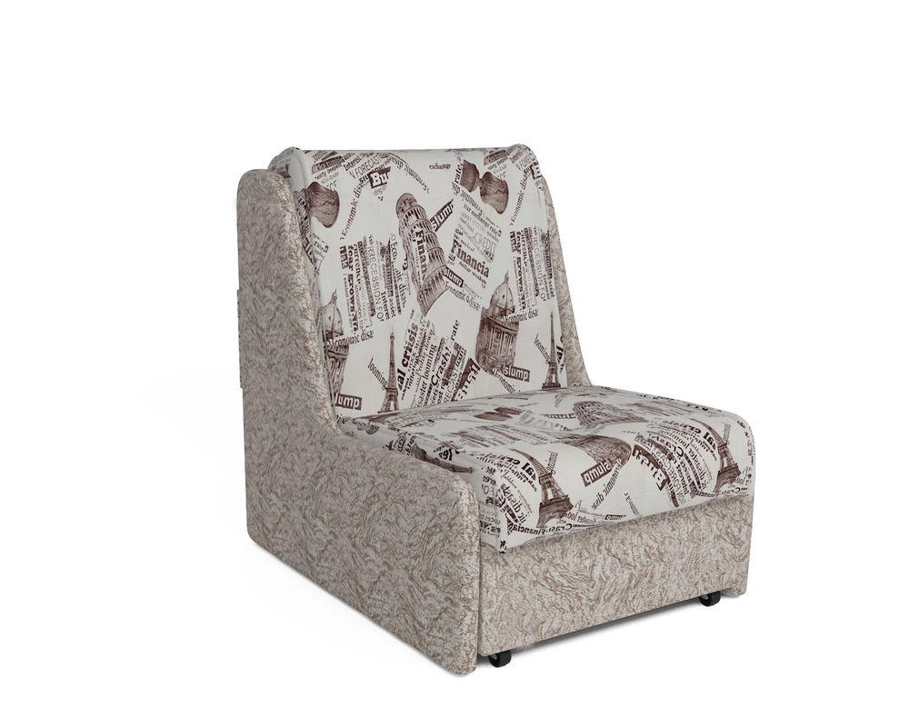 Кресло Мебель-АРС Аккорд №2 (газета коричневая) - фото 1