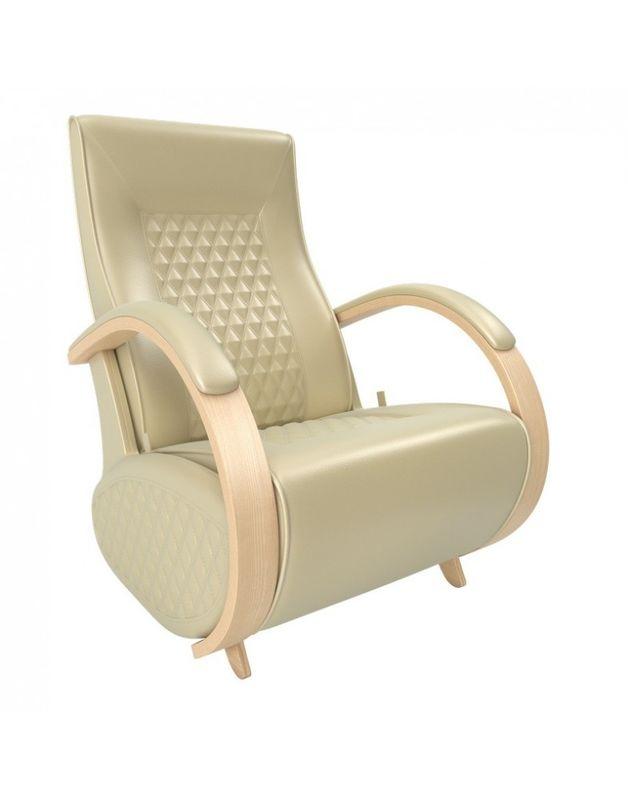 Кресло Impex Balance-3 экокожа натуральный (oregon 106) - фото 1