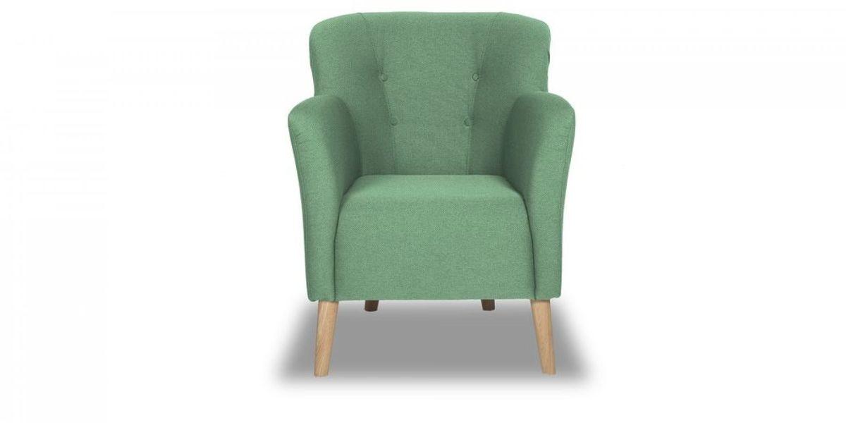 Кресло WOWIN Ингрид (Мятная рогожка) - фото 2
