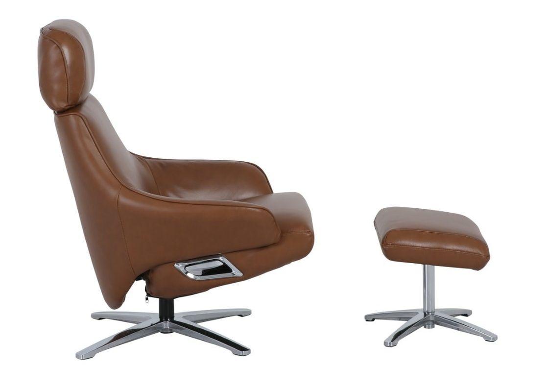 Кресло Arimax Dr Max DM02008 (Охра) с подставкой для ног - фото 2