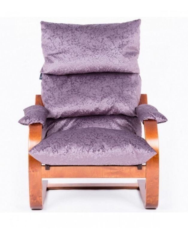 Кресло Impex Онега  вишня - фото 2