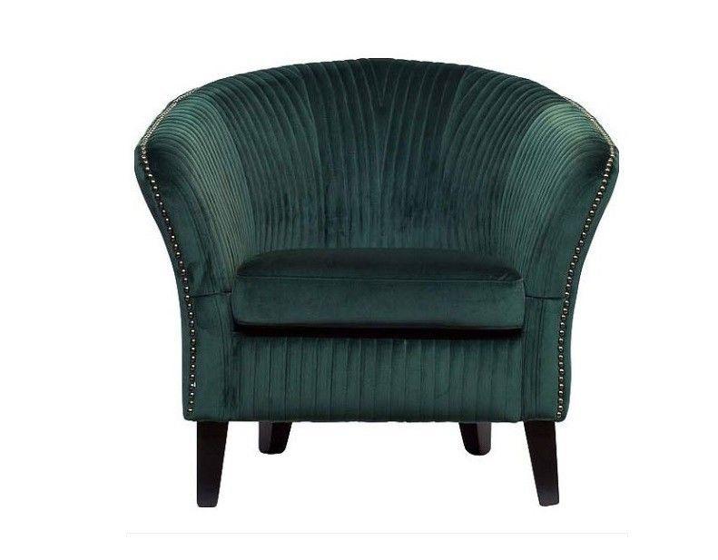 Кресло Garda Decor Кресло для гостиной Garda Dеcor PJS30801-PJ622 GRD_TT-00000528, зеленый - фото 2