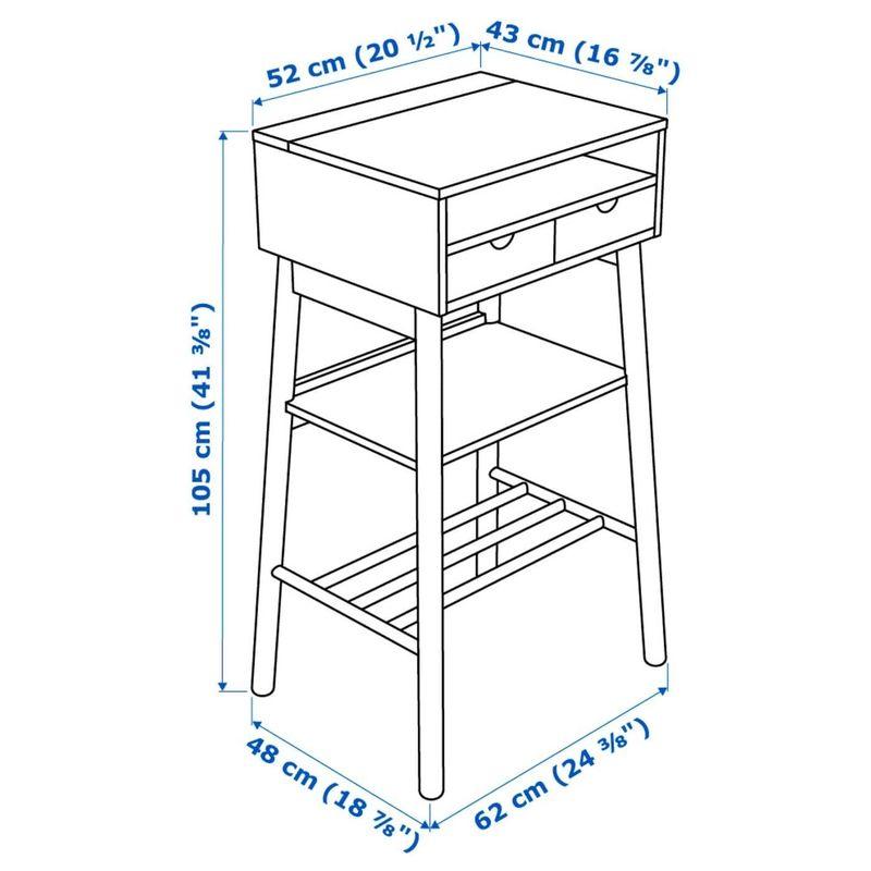 Стол-консоль IKEA Кноттен 303.847.99 - фото 8