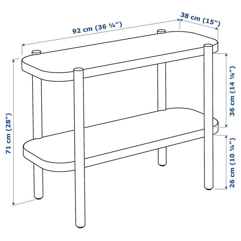 Стол-консоль IKEA Листерби 304.090.40 - фото 5