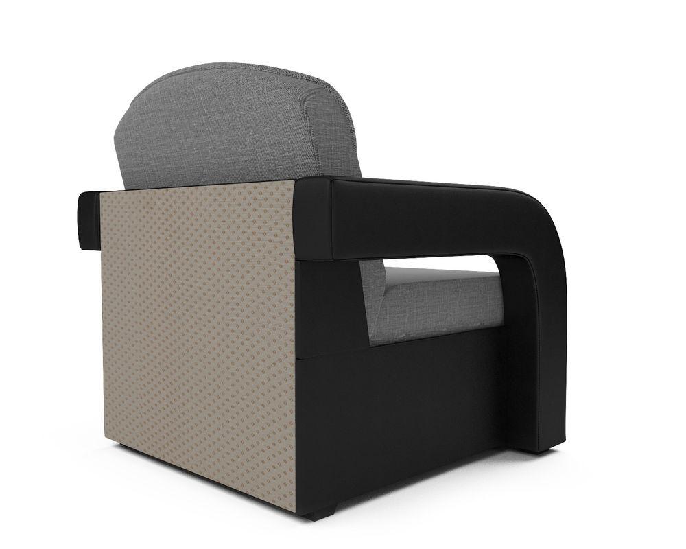 Кресло Мебель-АРС Кармен-2 (рогожка серая) - фото 4