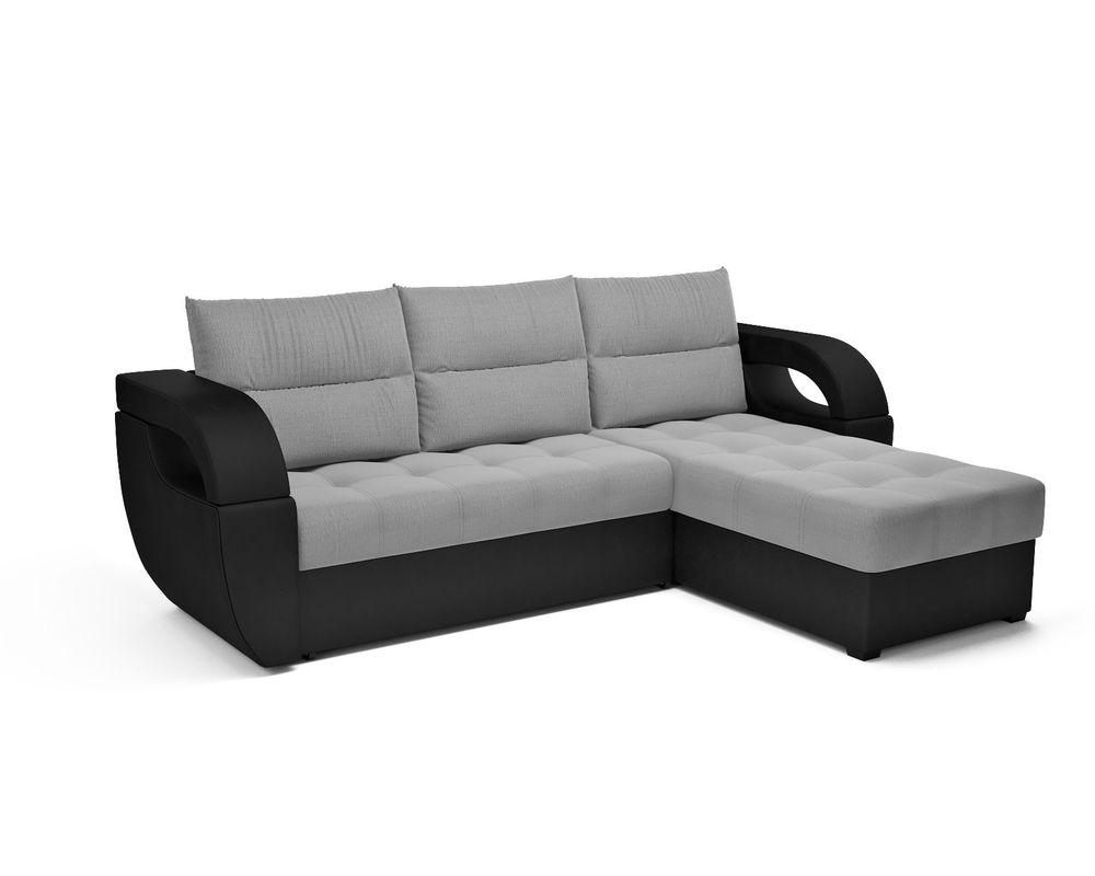 Диван Мебель-АРС Мартин (рогожка серая) - фото 1