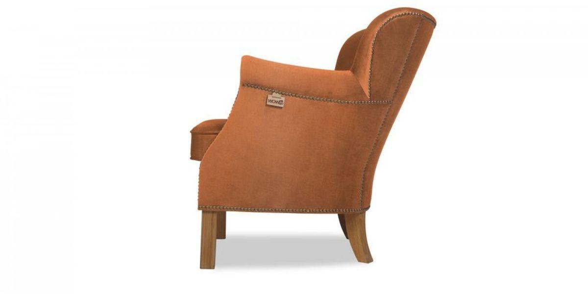 Кресло WOWIN Голден (Бледно-лососевый велюр) - фото 3
