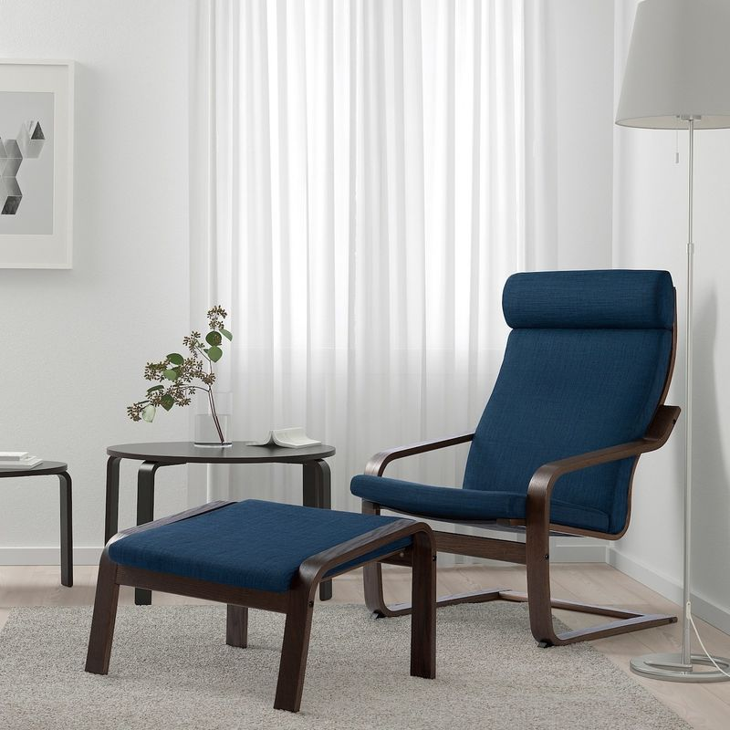Кресло IKEA Поэнг 693.028.06 - фото 3