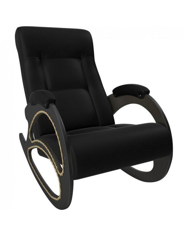 Кресло Impex Модель 4 экокожа (vegas lite black) - фото 4
