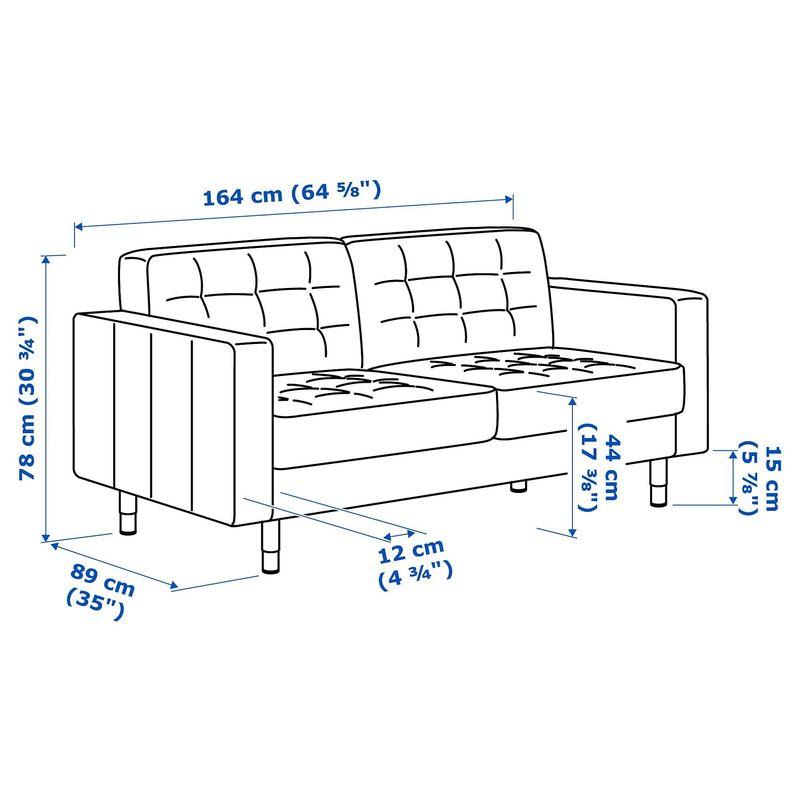 Диван IKEA Ландскруна [692.702.83] - фото 6